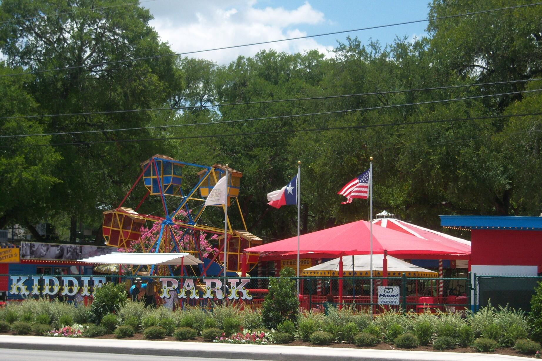 Photo of Kiddie Park, an amusement park for the toddler to elementary school set.