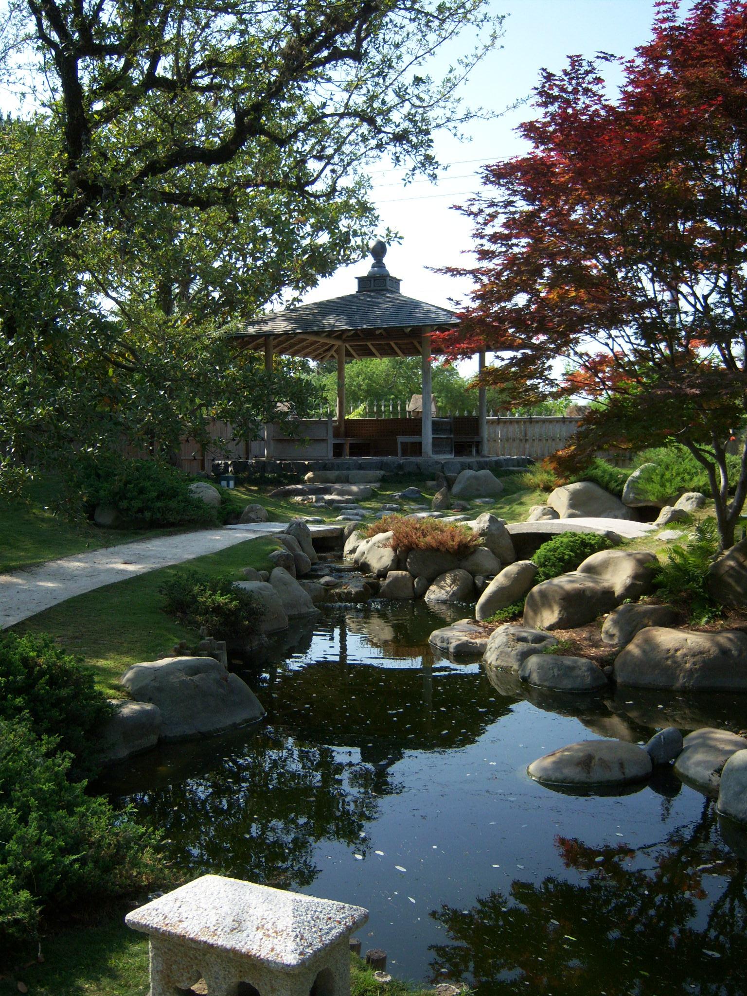 Japanese Garden at the San Antonio Botanical Garden