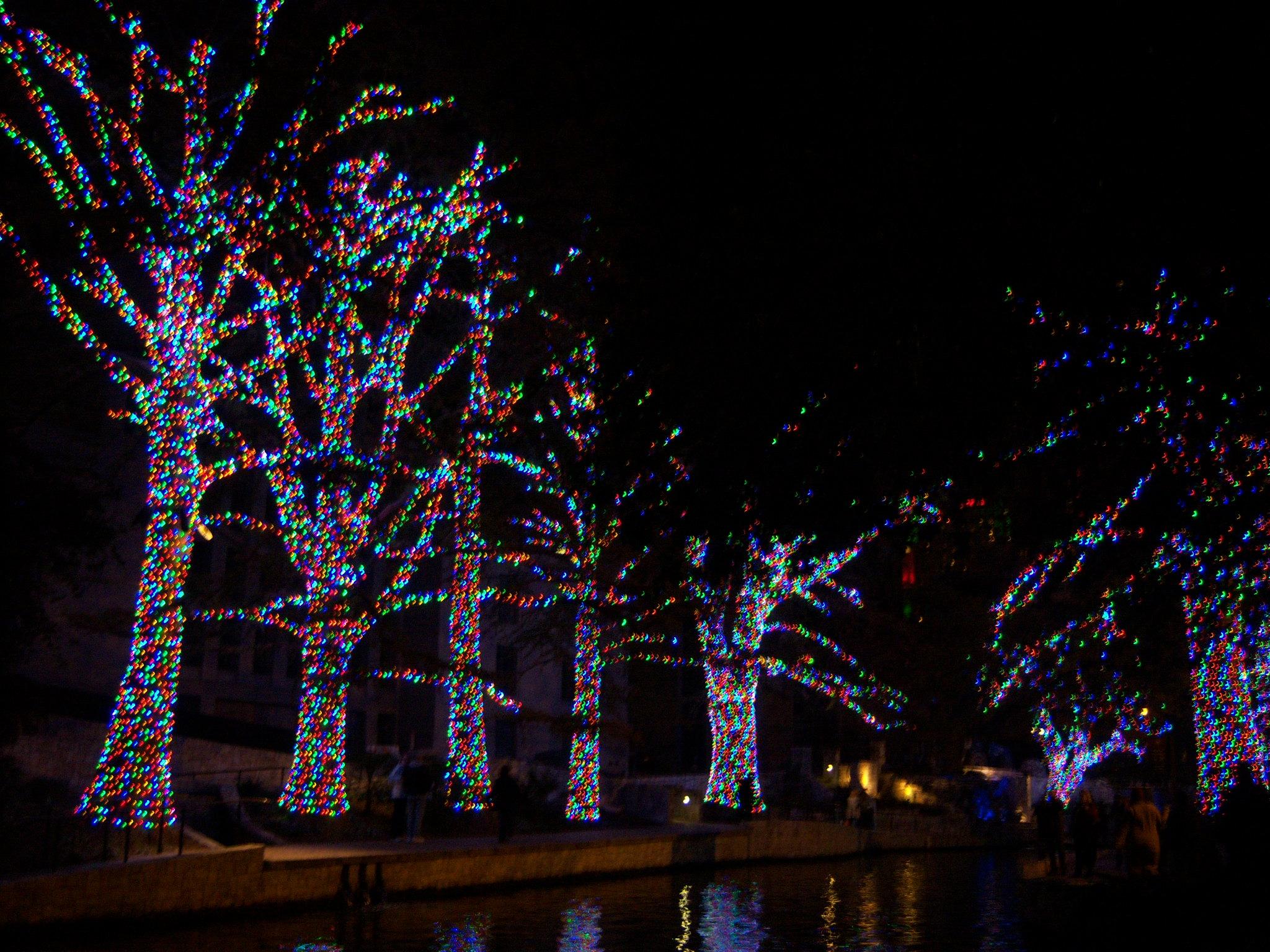 Riverwalk San Antonio Christmas.San Antonio River Walk Christmas Lights San Antonio Tourist