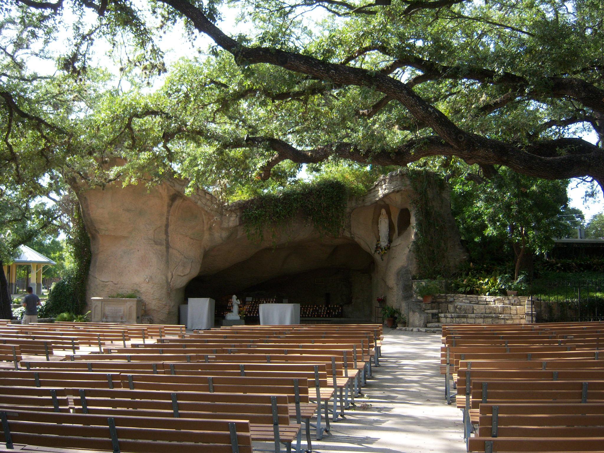 Our Lady Of Lourdes Grotto Of The Southwest San Antonio