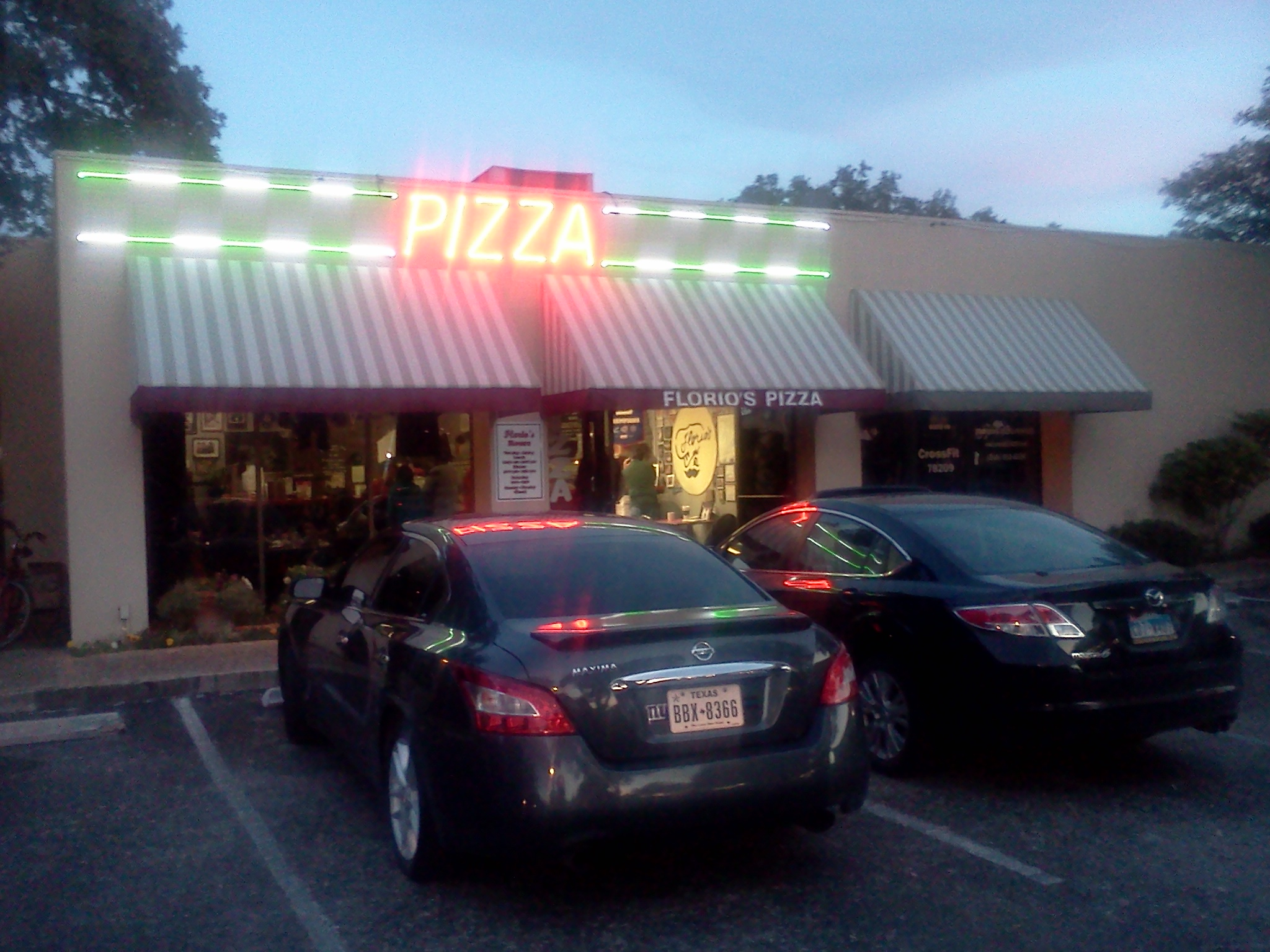 Photo of Florio's Pizza at 7701 Broadway at Nottingham in San Antonio, Texas.