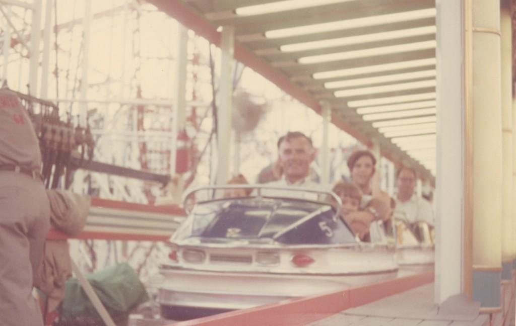 Photo of Denise Barkis Richter at HemisFair, the 1968 World's Fair, in San Antonio, Texas, U.S.A.