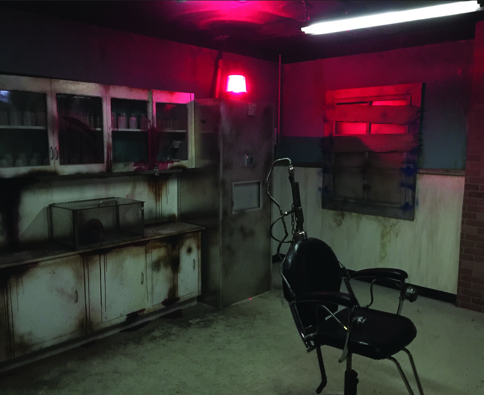 Photo of the zombie room in Extreme Escape.
