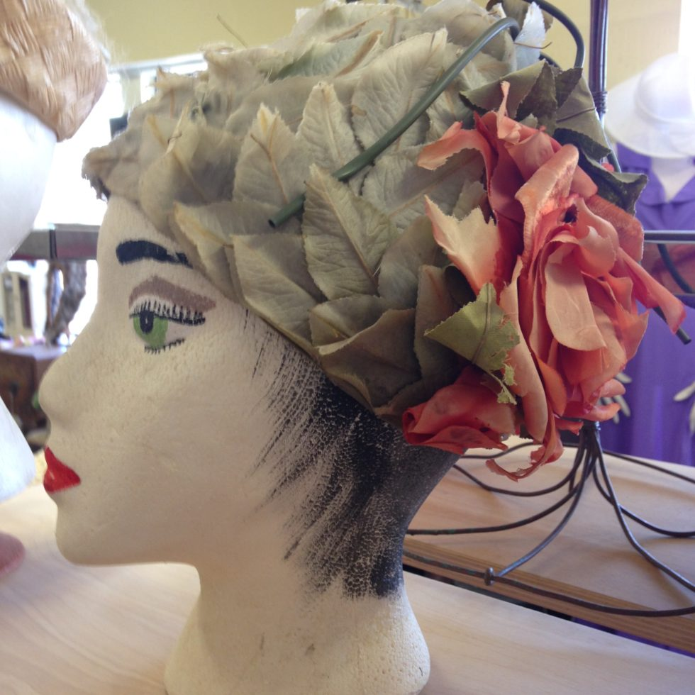 Photo of a vintage chapeau at Antique Sampler Mall in San Antonio, Texas.