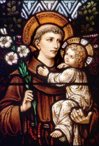 Saint anthony finder of lost things